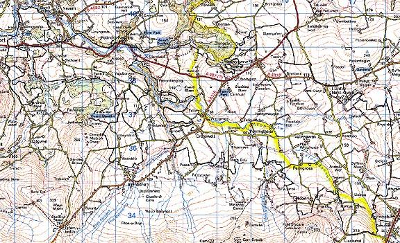 Dispersed Settlement Map