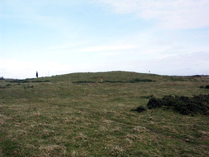 Brownslade Barrow from the north