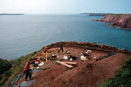 Great Castle Head Excavation